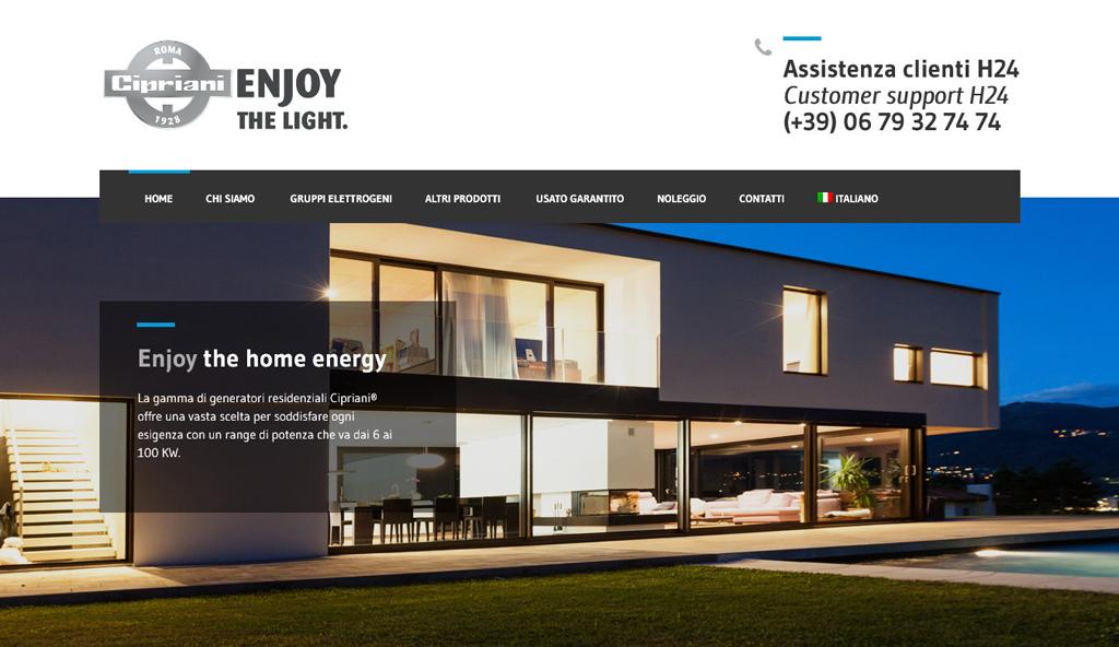 home sito web Cipriani